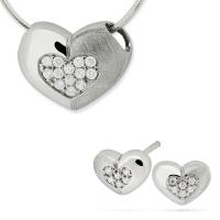 Komplet srebrnej biżuterii 193443-193429