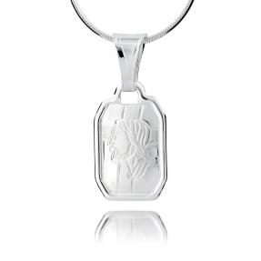 Srebrny medalik 158053