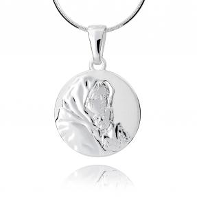 Srebrny medalik 158091