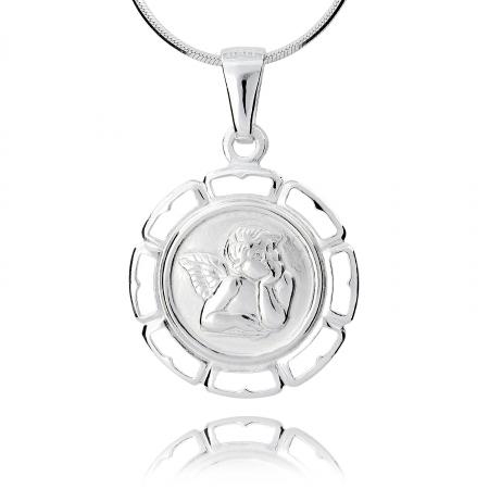 Srebrny medalik 158145