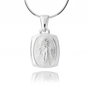 Srebrny medalik 158152