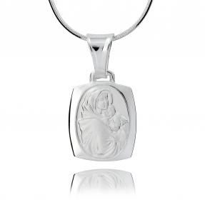 Srebrny medalik 158183