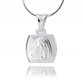 Srebrny medalik 158206