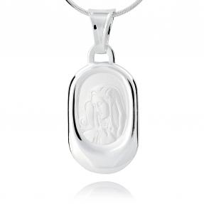 Srebrny medalik 158237