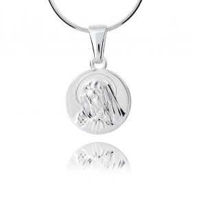 Srebrny medalik 158299