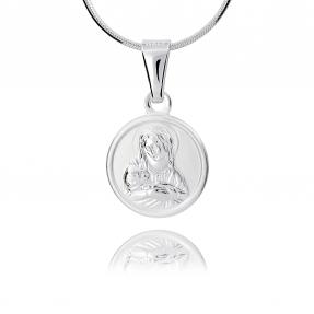 Srebrny medalik 158350