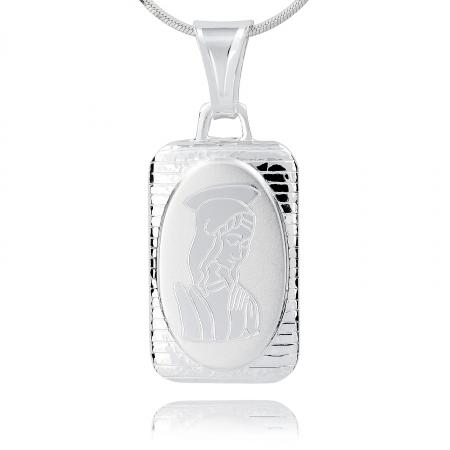 Srebrny medalik 159340