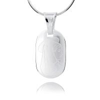 Srebrny medalik 159524