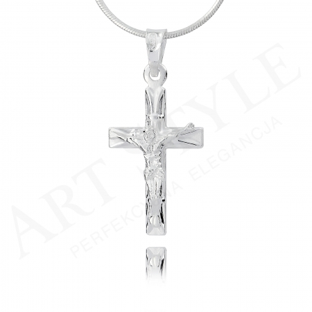 Srebrny krzyżyk 160117