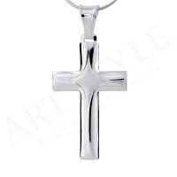 Srebrny krzyżyk 160124