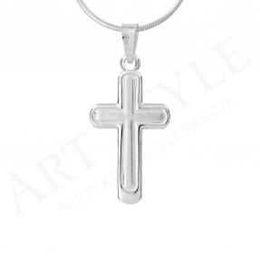 Srebrny krzyżyk 160131