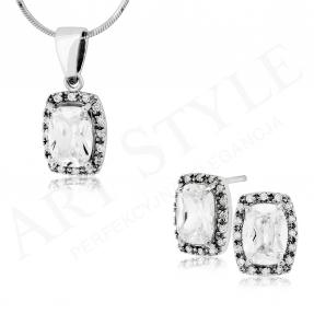 Komplet srebrnej biżuterii 173780_205467