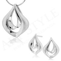 Komplet srebrnej biżuterii 212250-212267