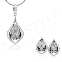 Komplet srebrnej biżuterii 205634-205627
