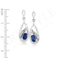 Komplet srebrnej biżuterii 205719-205733