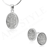 Komplet srebrnej biżuterii 214124-214117