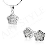 Komplet srebrnej biżuterii 213981-213998