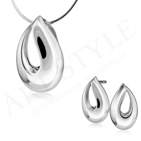 Komplet srebrnej biżuterii 213264-212953