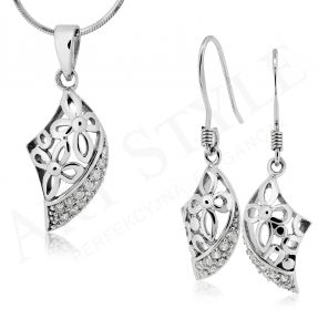 Komplet srebrnej biżuterii 184137-184120