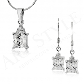 Komplet srebrnej biżuterii 162067-162074
