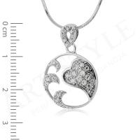 Komplet srebrnej biżuterii 185288-185271