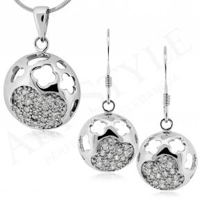 Komplet srebrnej biżuterii 171878-171885