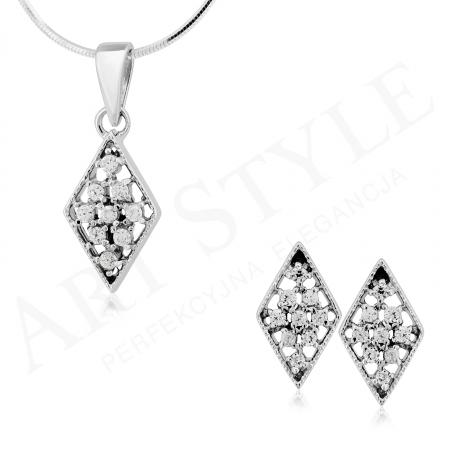Komplet srebrnej biżuterii 184267-184274