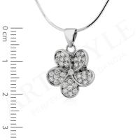 Komplet srebrnej biżuterii 189620-189637