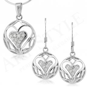 Komplet srebrnej biżuterii 162098-162081