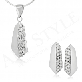 Komplet srebrnej biżuterii 173292-173285