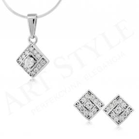 Komplet srebrnej biżuterii 163163-163149