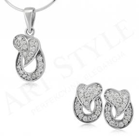 Komplet srebrnej biżuterii 172172-172189