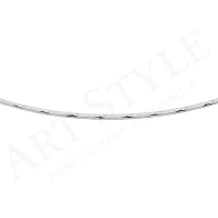 Srebrny Łańcuszek typu Linka 45cm 176910