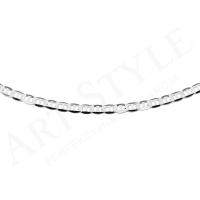 Srebrny Łańcuszek typu Marina 50cm 211758