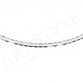 Srebrny Łańcuszek typu Marina 55cm 211765
