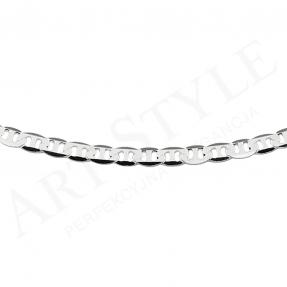 Srebrny Łańcuszek typu Marina 50cm 228787