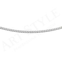 Srebrny Łańcuszek typu Pancerka 45cm 205573