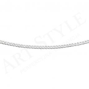 Srebrny Łańcuszek typu Pancerka 42cm 202817