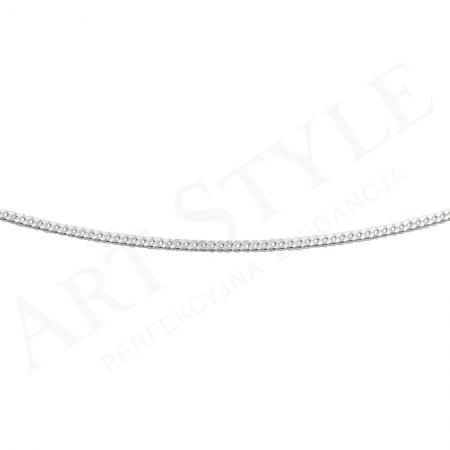 Srebrny Łańcuszek typu Pancerka 42cm 211222