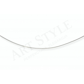 Srebrny Łańcuszek typu Linka 45cm 554411