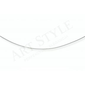 Srebrny Łańcuszek typu Linka 42cm 557566