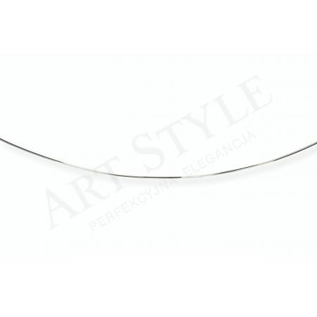 Srebrny Łańcuszek typu Linka 42cm 538282