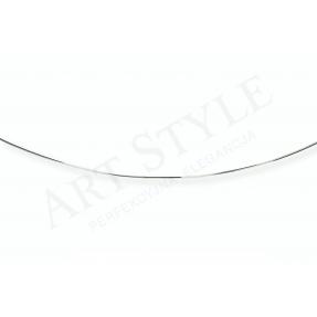 Srebrny Łańcuszek typu Linka 55cm 538367