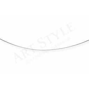 Srebrny Łańcuszek typu Linka 45cm 537766