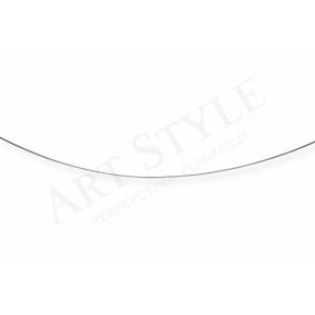 Srebrny Łańcuszek typu Linka 45cm 557641
