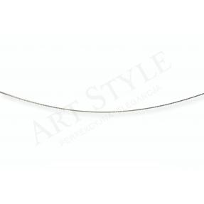 Srebrny Łańcuszek typu Linka ozdobna 50cm 537742
